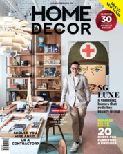 Cover Majalah HOME & DECOR Singapore April 2018