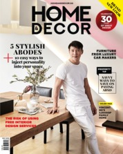HOME & DECOR Singapore Magazine Cover May 2018