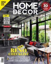 HOME & DECOR Singapore Magazine Cover July 2018