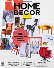 Cover Majalah HOME & DECOR Singapore Agustus 2018
