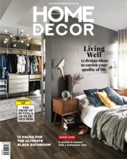 Cover Majalah HOME & DECOR Singapore September 2018