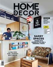 Cover Majalah HOME & DECOR Singapore Oktober 2018