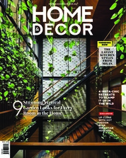 Cover Majalah HOME & DECOR Singapore November 2018