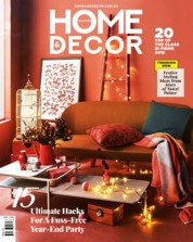 HOME & DECOR Singapore Magazine Cover December 2018