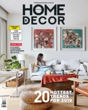 Cover Majalah HOME & DECOR Singapore Januari 2019