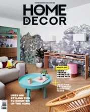 Cover Majalah HOME & DECOR Singapore Mei 2019