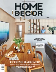 Cover Majalah HOME & DECOR Singapore Oktober 2019