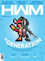 Cover Majalah HWM Singapore Agustus 2017