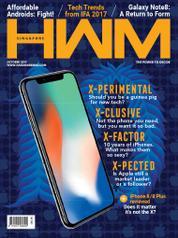 Cover Majalah HWM Singapore Oktober 2017