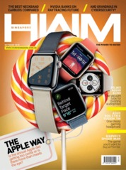 Cover Majalah HWM Singapore