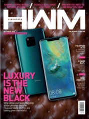 HWM Singapore Magazine Cover December 2018
