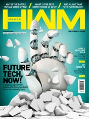 Cover Majalah HWM Singapore Januari 2019