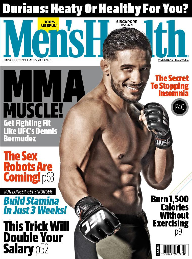 Mens Health Singapore Digital Magazine July 2016