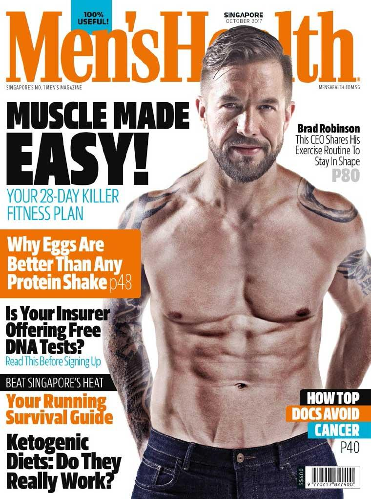 Men's Health Singapore Digital Magazine October 2017