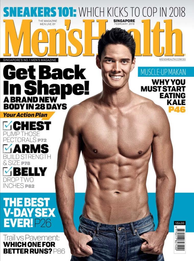 Men's Health Singapore Digital Magazine February 2018