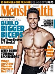 Cover Majalah Men's Health Singapore September 2016