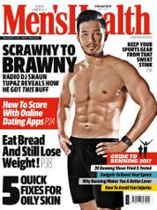 Men's Health Singapore Magazine Cover May 2017