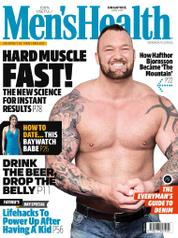Men's Health Singapore Magazine Cover June 2017