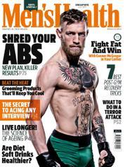 Cover Majalah Men's Health Singapore Juli 2017