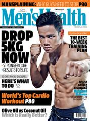 Men's Health Singapore Magazine Cover August 2017