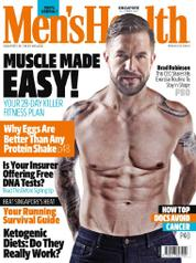 Cover Majalah Men's Health Singapore Oktober 2017