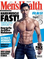 Cover Majalah Men's Health Singapore November 2017