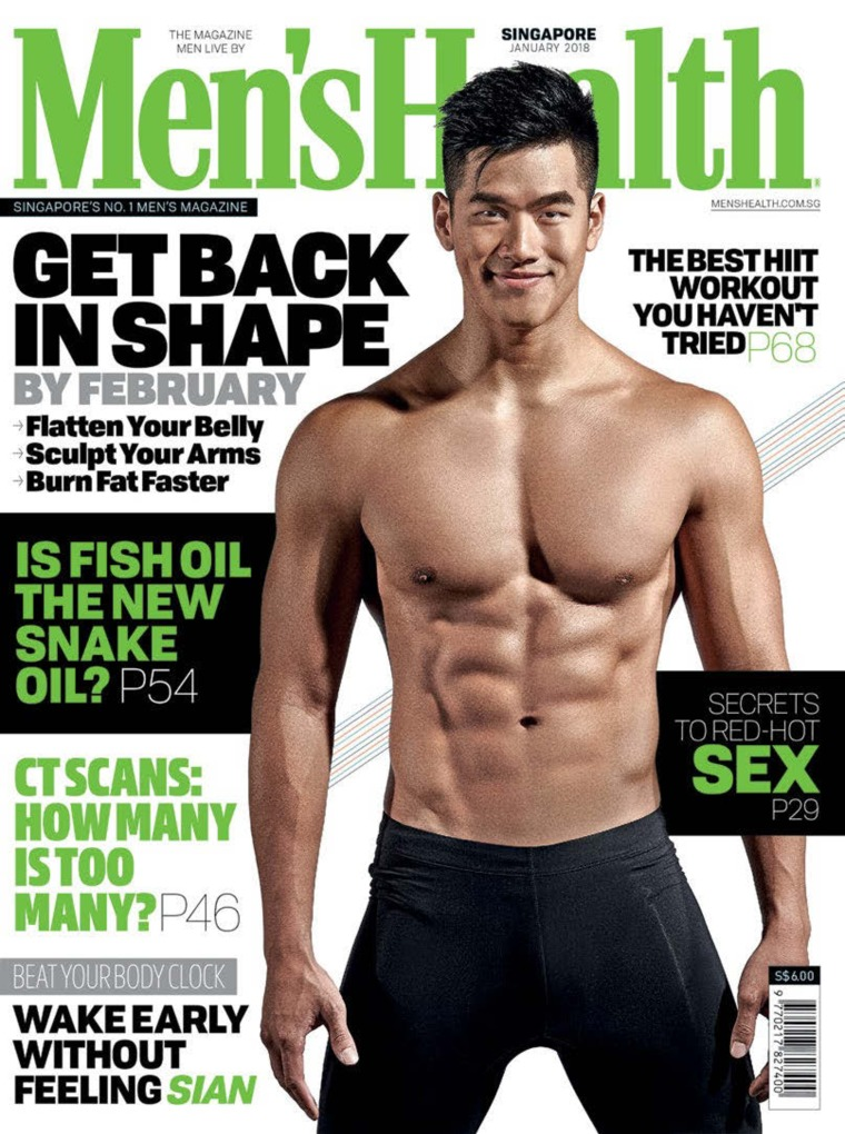 Majalah Digital Men's Health Singapore Januari 2018
