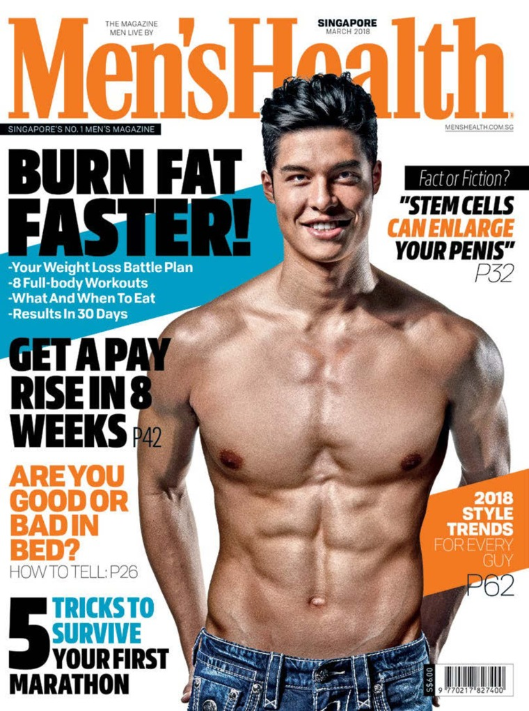 Majalah Digital Men's Health Singapore Maret 2018