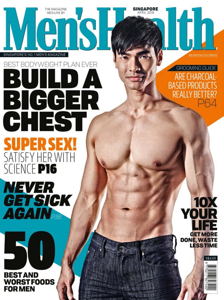 Men's Health Singapore Digital Magazine April 2018