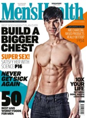 Men's Health Singapore Magazine Cover April 2018