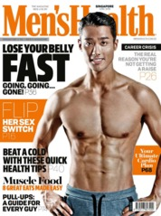 Cover Majalah Men's Health Singapore Juni 2018