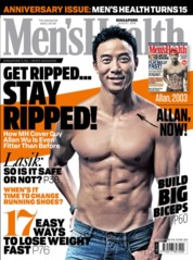 Men's Health Singapore Magazine Cover August 2018