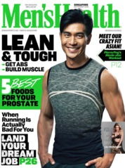 Men's Health Singapore Magazine Cover September 2018