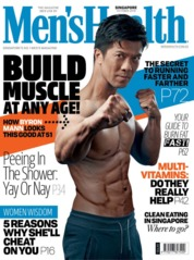 Men's Health Singapore Magazine Cover October 2018