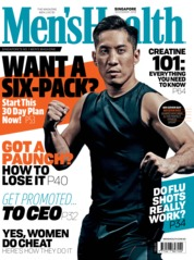 Cover Majalah Men's Health Singapore November 2018
