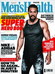Cover Majalah Men's Health Singapore Desember 2018