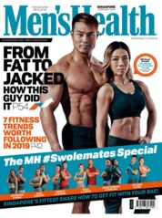 Cover Majalah Men's Health Singapore Februari 2019