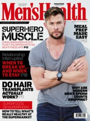 Men's Health Singapore Magazine Cover March 2019
