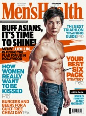 Cover Majalah Men's Health Singapore Mei 2019
