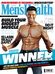 Men's Health Singapore Magazine Cover June 2019