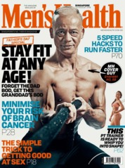 Cover Majalah Men's Health Singapore Juli 2019