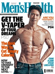 Men's Health Singapore Magazine Cover September 2019