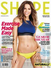 Cover Majalah SHAPE Singapore Mei 2017