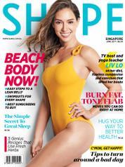 Cover Majalah SHAPE Singapore Juni 2017
