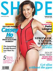 Cover Majalah SHAPE Singapore Juli 2017