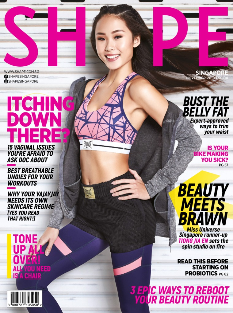 Majalah Digital SHAPE Singapore November 2018