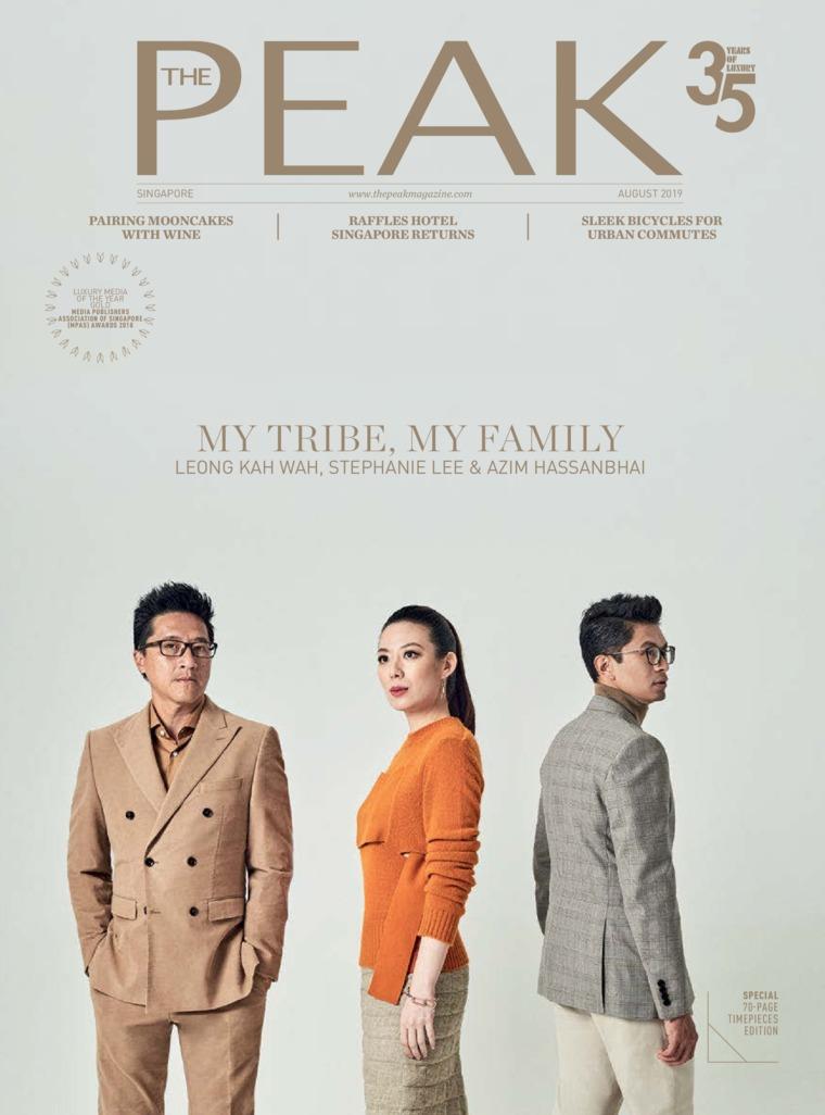 Majalah Digital THE PEAK Singapore Agustus 2019