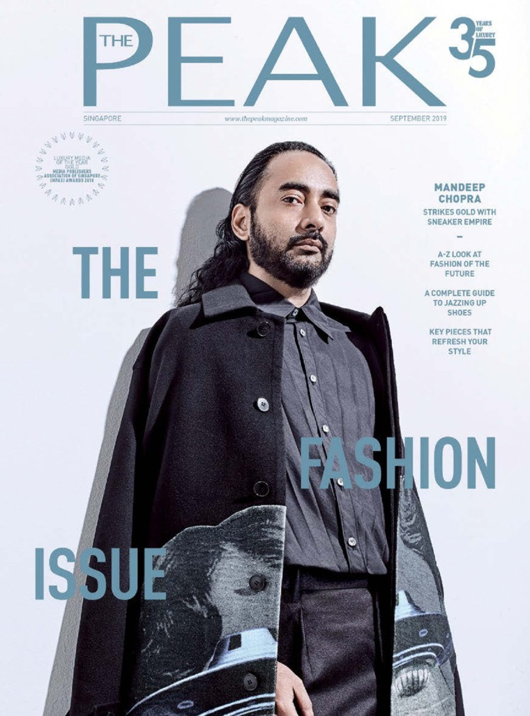 Majalah Digital THE PEAK Singapore September 2019