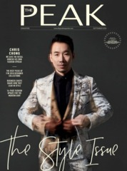 THE PEAK Singapore Magazine Cover September 2018