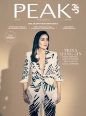 THE PEAK Singapore Magazine Cover March 2019